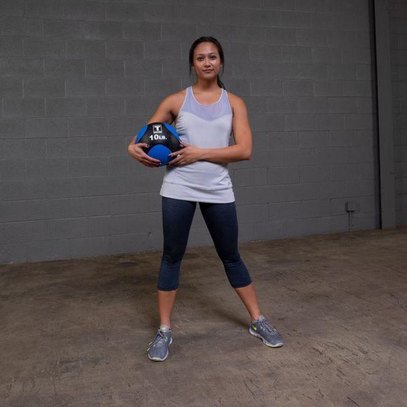 Фотография Тренировочный мяч 4,5 кг (10lb) премиум 2