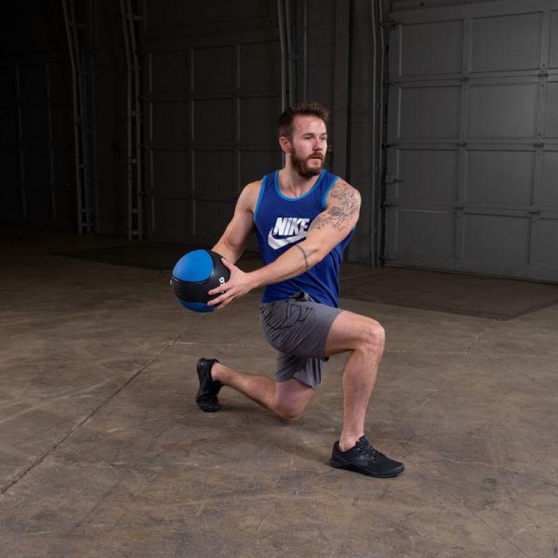 Фотография Тренировочный мяч 4,5 кг (10lb) премиум 4
