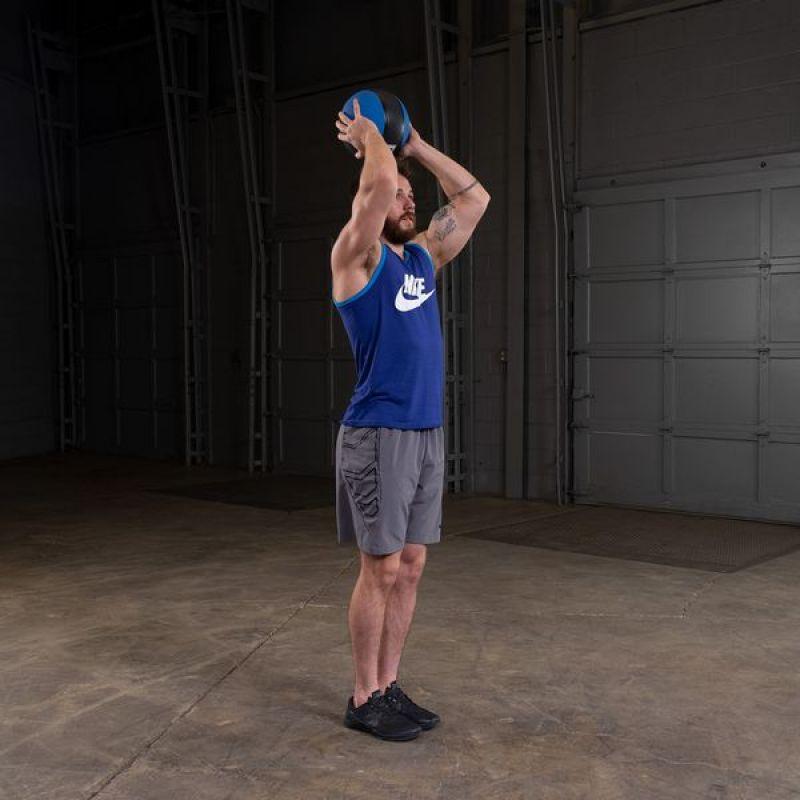 Фотография Тренировочный мяч 4,5 кг (10lb) премиум 5