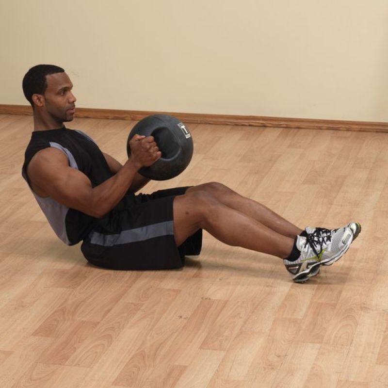 Фотография Тренировочный мяч с хватами 2,7 кг (6lb) 1