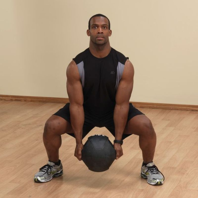 Фотография Тренировочный мяч с хватами 2,7 кг (6lb) 2