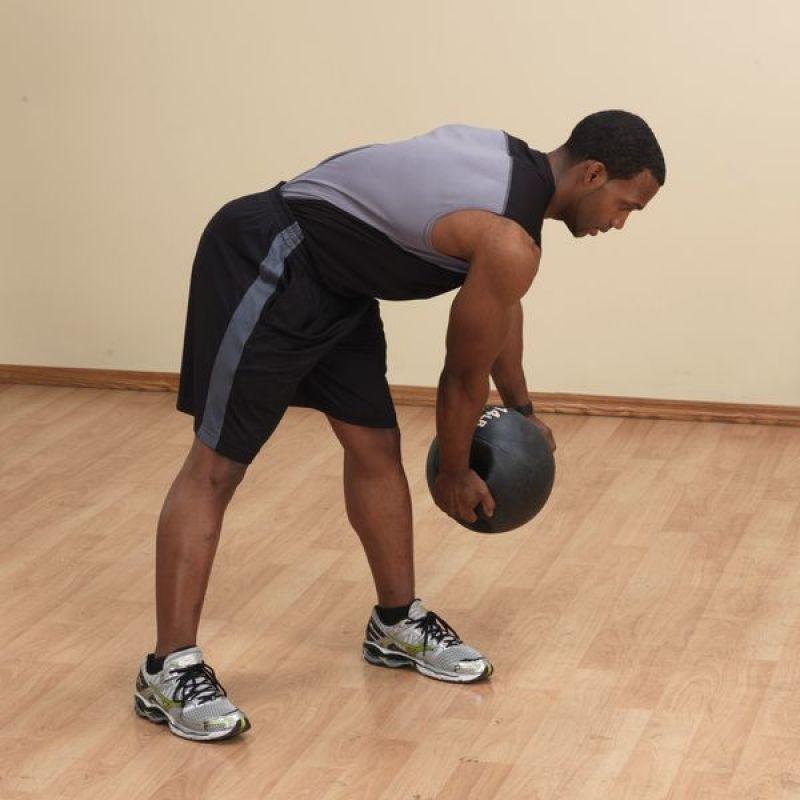 Фотография Тренировочный мяч с хватами 2,7 кг (6lb) 7