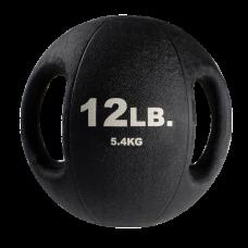 Миниатюра Тренировочный мяч с хватами 5,4 кг (12lb) 0  мини