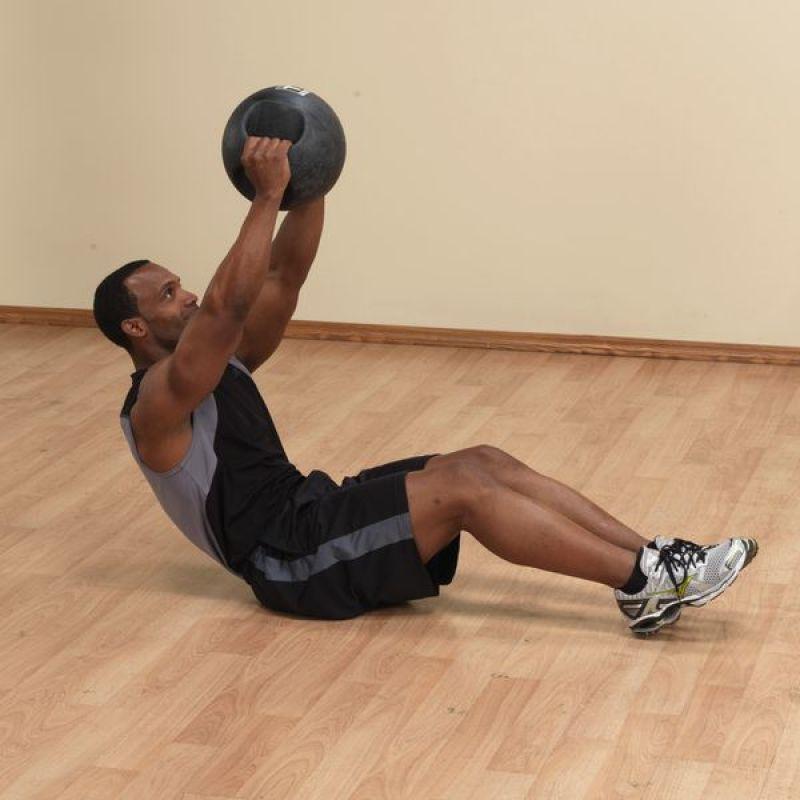 Фотография Тренировочный мяч с хватами 4,5 кг (10lb) 2