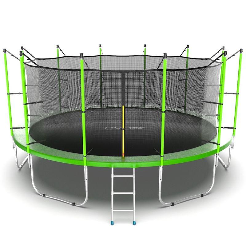 Фотография EVO JUMP Internal 16ft Батут с внутренней сеткой и лестницей, диаметр 16ft  0