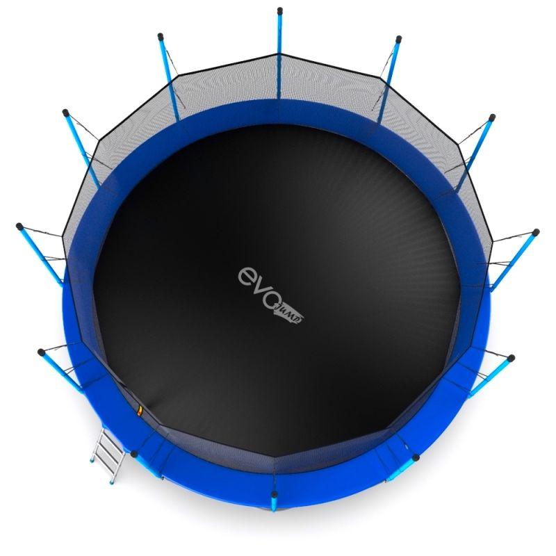 Фотография EVO JUMP Internal 16ft Батут с внутренней сеткой и лестницей, диаметр 16ft  7
