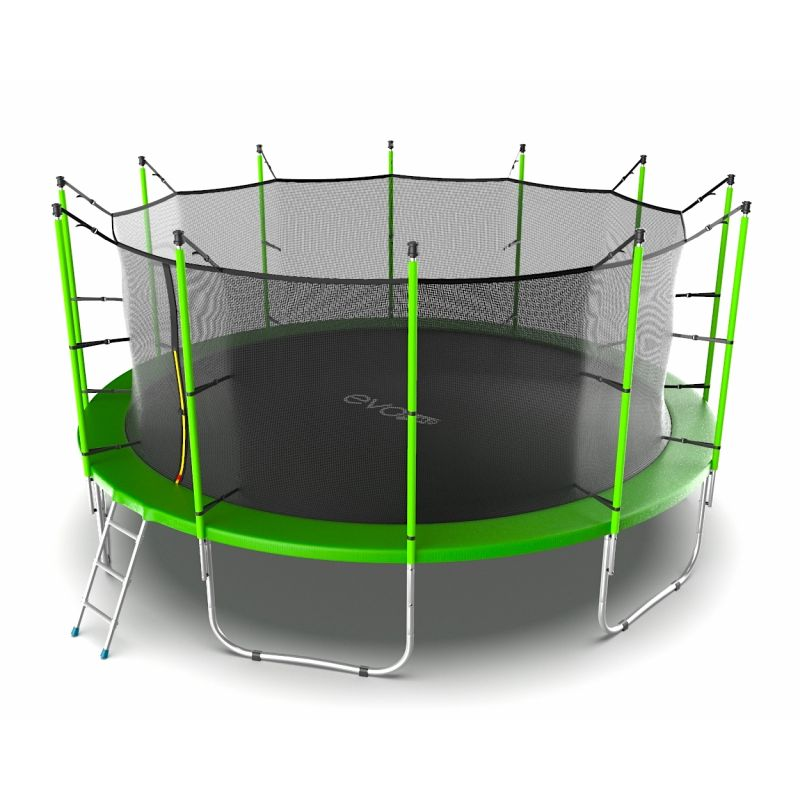 Фотография EVO JUMP Internal 16ft Батут с внутренней сеткой и лестницей, диаметр 16ft  4