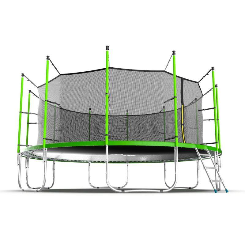 Фотография EVO JUMP Internal 16ft Батут с внутренней сеткой и лестницей, диаметр 16ft  11