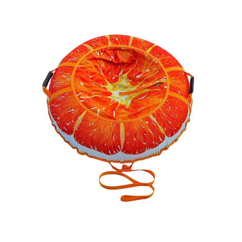 Фотография Тюбинг Сочный апельсин 95 см 2