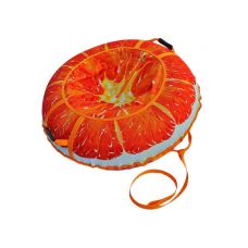 Миниатюра Тюбинг Сочный апельсин 110 см 0  мини