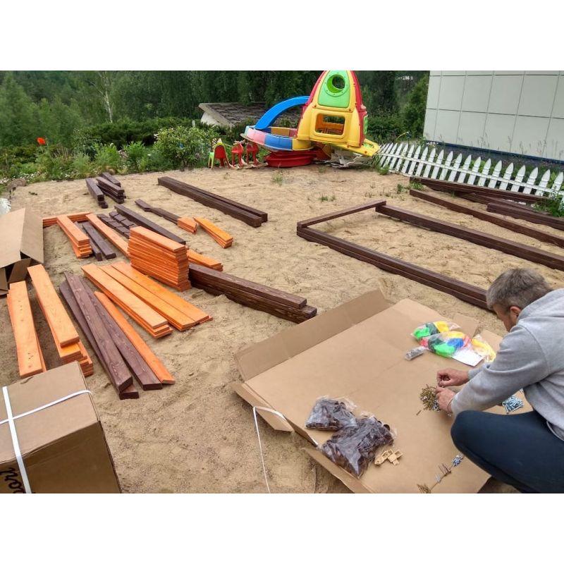 Фотография Деревянная детская площадка Марк 3 6