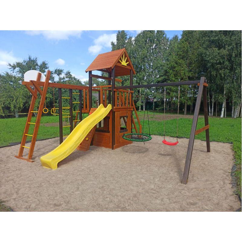 Фотография Деревянная детская площадка Марк 3 0