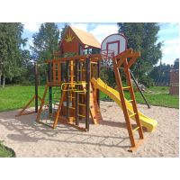Деревянная детская площадка Марк 4