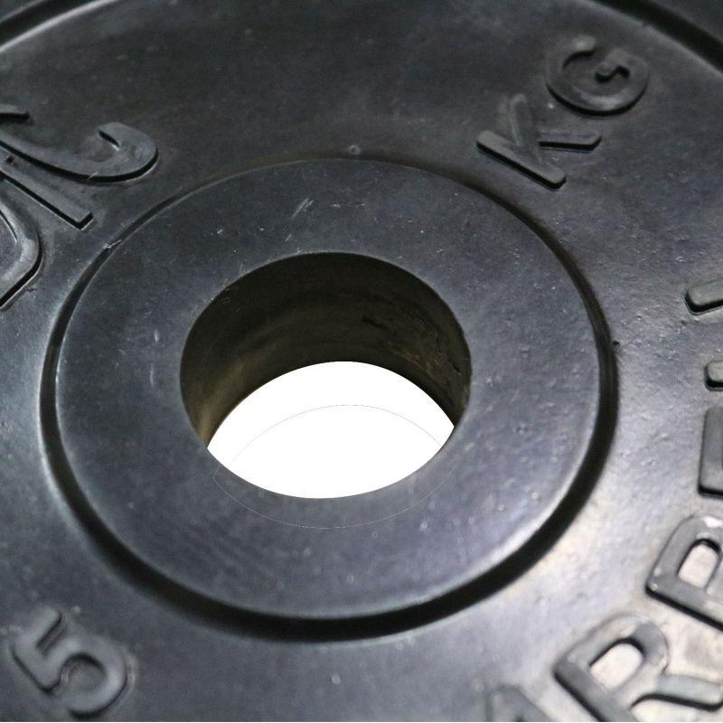 Фотография Диск обрезиненный DFC, чёрный, 31 мм, 10кг 4