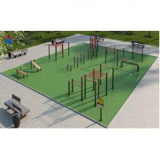Миниатюра Площадка для сдачи спортивных норм №1 0  мини