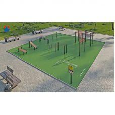 Миниатюра Площадка для сдачи спортивных норм №5 0  мини