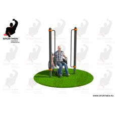 Миниатюра Поручни для подъема на инвалидной коляске 0  мини