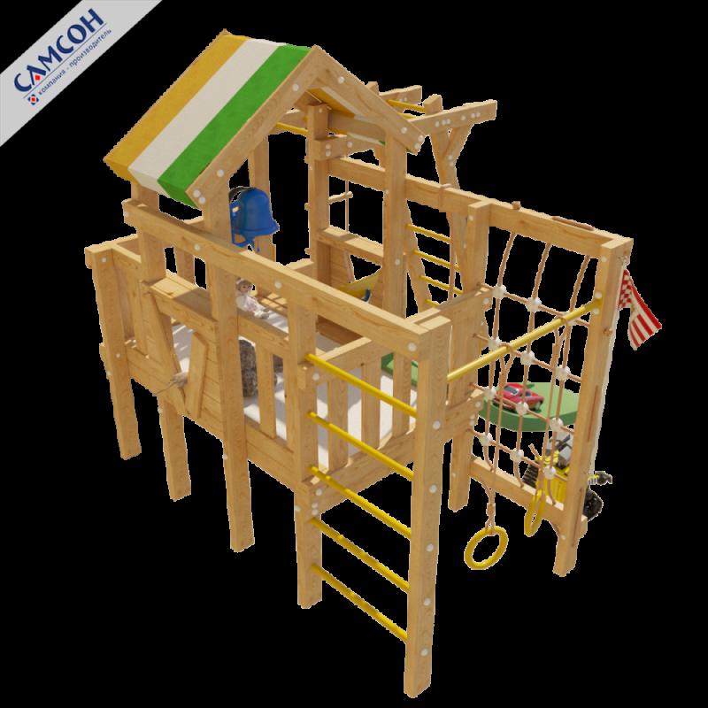 Фотография Детский игровой чердак для дома и дачи ВАЛЛИ 4