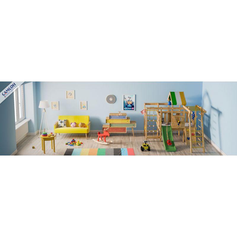 Фотография Детский игровой чердак для дома и дачи ВАЛЛИ 3