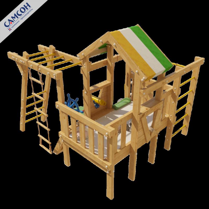 Фотография Детский игровой чердак для дома и дачи ВАЛЛИ 2