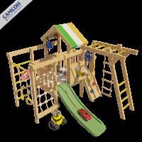 Детский игровой чердак для дома и дачи ВАЛЛИ
