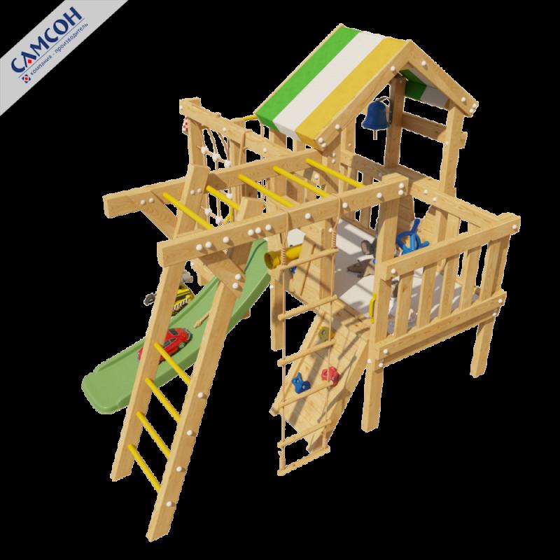 Фотография Детский игровой чердак для дома и дачи ВАЛЛИ 6