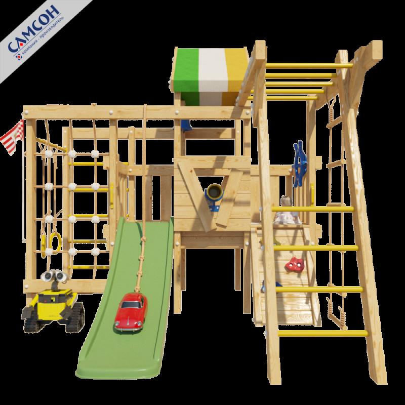 Фотография Детский игровой чердак для дома и дачи ВАЛЛИ 8
