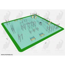 Миниатюра Спортивная площадка К-10 0  мини