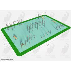 Миниатюра Спортивная площадка К-5 0  мини