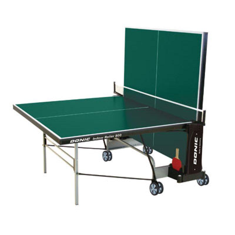 Фотография Теннисный стол Donic Indoor Roller 800 синий 2