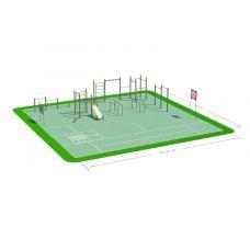 Миниатюра Спортивная площадка СП-1 0  мини