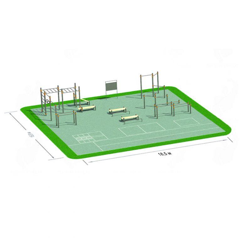 Фотография Спортивная площадка СП-4 0