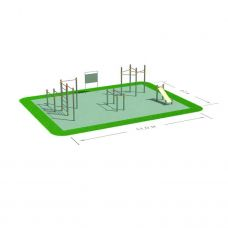 Миниатюра Спортивная площадка СП-6 0  мини