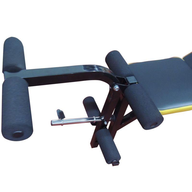 Фотография Силовая скамья со стойками DFC D002 3