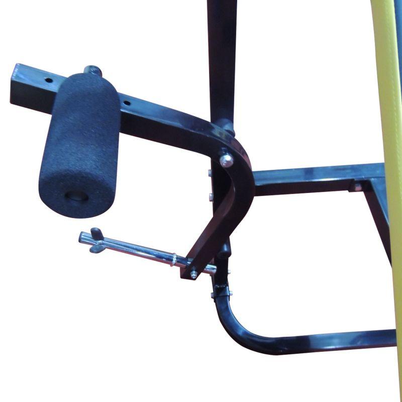 Фотография Силовая скамья со стойками DFC D002 4