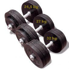 Миниатюра Гантель разборная обрезиненная 34,5 кг 0  мини