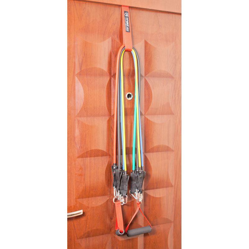 Фотография Набор трубчатых эспандеров с ручками (PRO) в мешочке 8