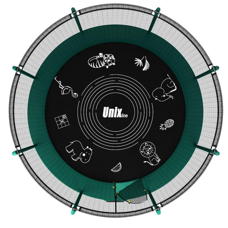 Фотография Батут UNIX line SUPREME GAME 12 ft (green) 8