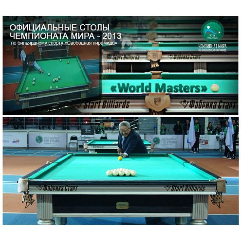 Фотография Бильярдный стол World Masters 2