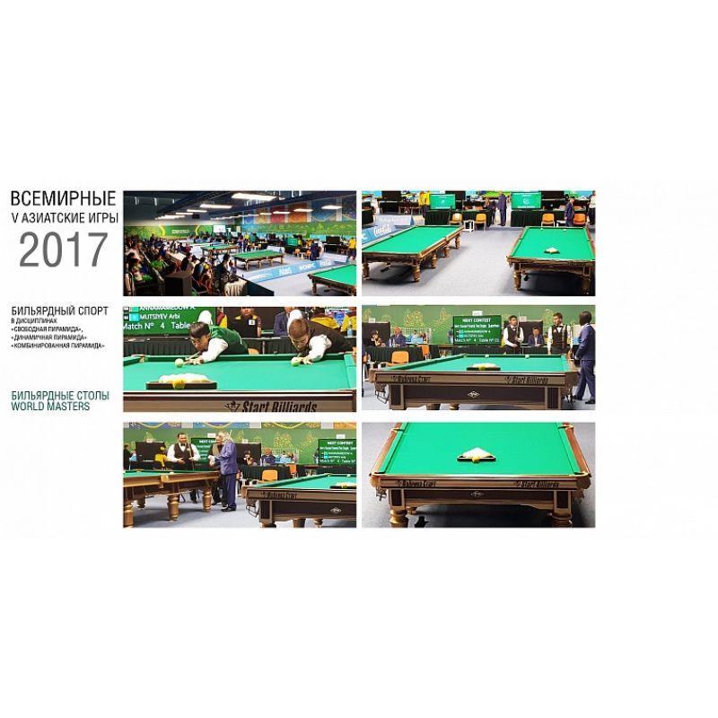 Фотография Бильярдный стол World Masters 3