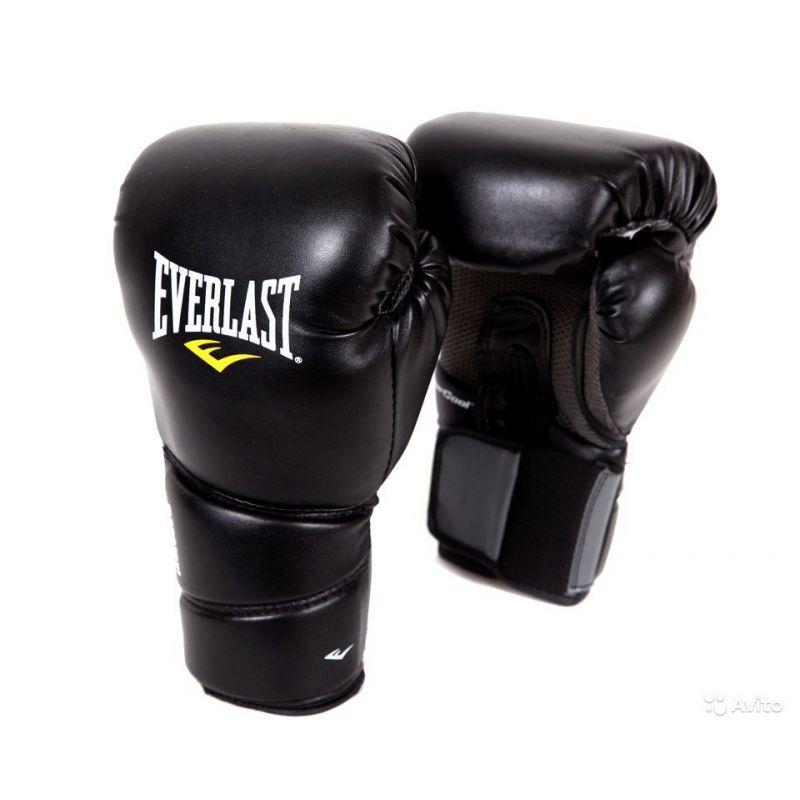 Фотография Перчатки тренировочные EVERLAST Protex2 PU 2