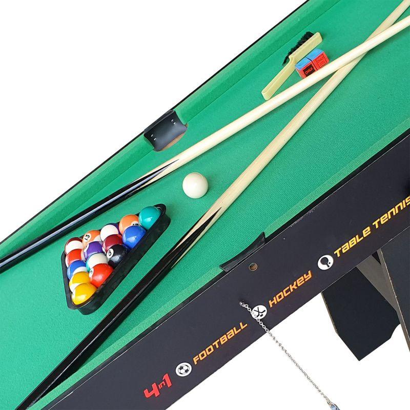 Фотография Игровой стол-трансформер DFC SUPERHATTRICK 4 в 1 8