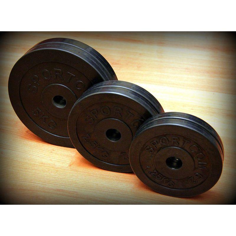 Фотография Штанга разборная тренировочная в наборе 47,5 кг 5