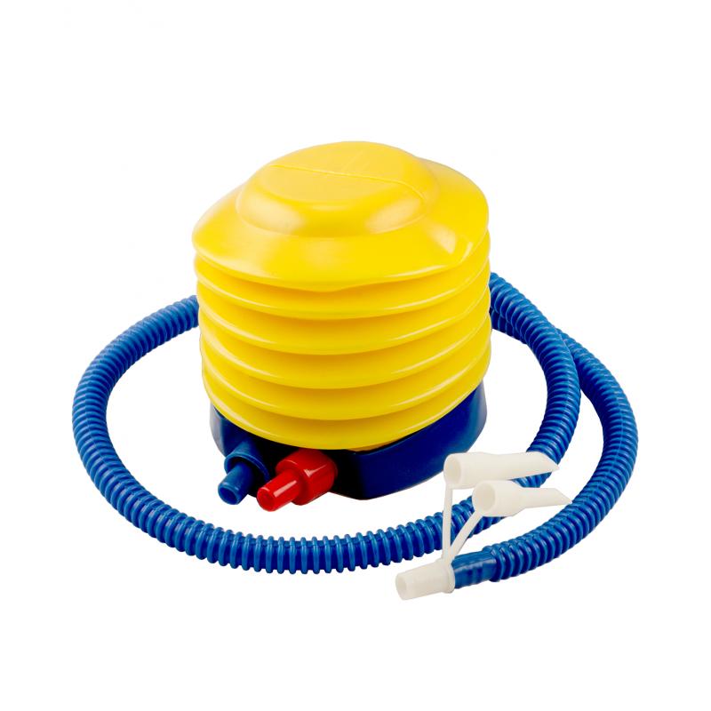 Фотография Мяч гимнастический GB-102 с насосом (55 см, синий, антивзрыв) 2