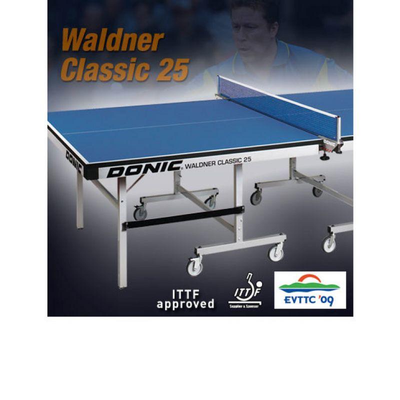 Фотография Теннисный стол Donic Waldner Classic 25 зеленый 1