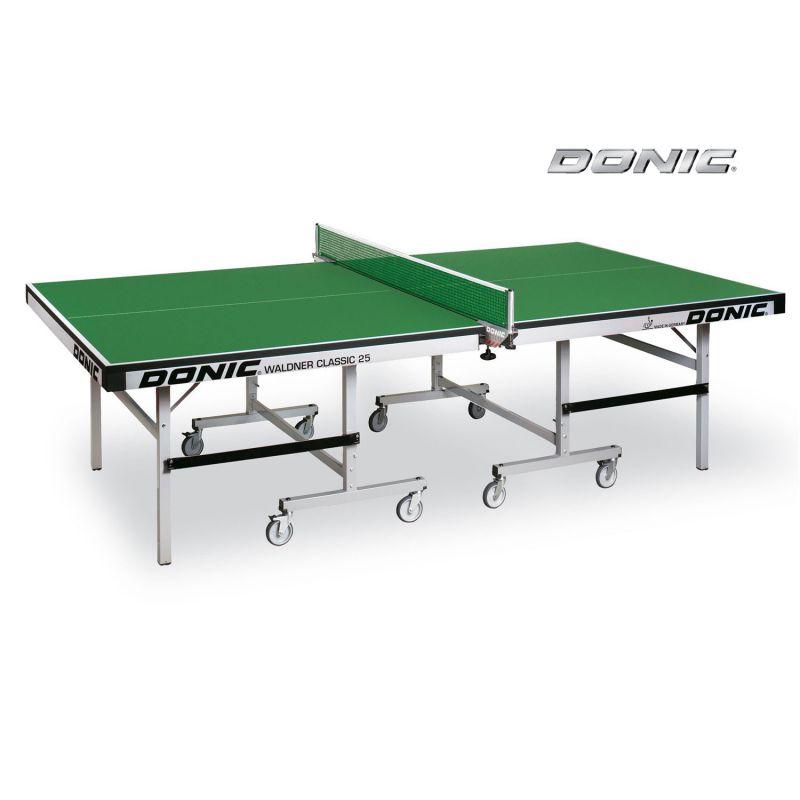Фотография Теннисный стол Donic Waldner Classic 25 зеленый 0