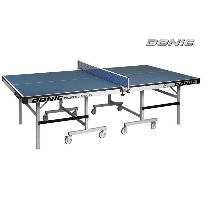 Фотография Теннисный стол Donic Waldner Classic 25 синий 0