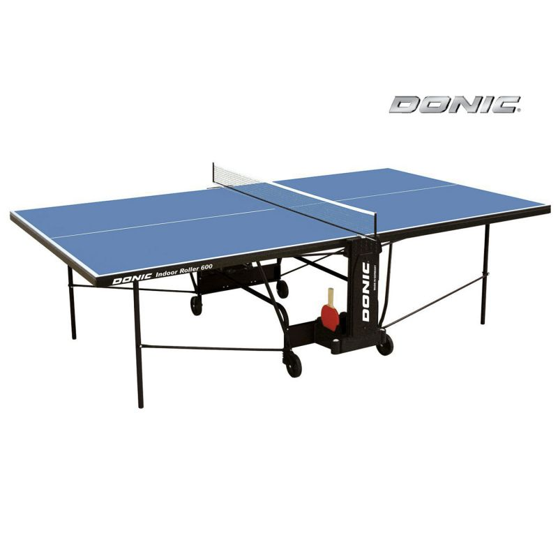 Фотография Теннисный стол Donic Indoor Roller 600 синий 0