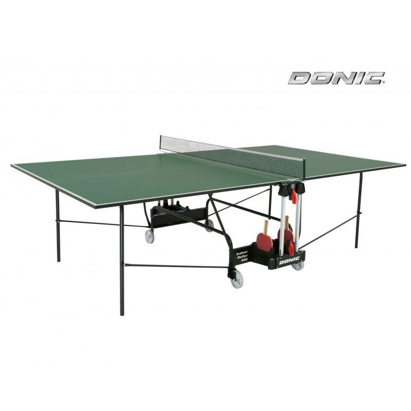 Фотография Теннисный стол Donic Indoor Roller 400 зеленый 0