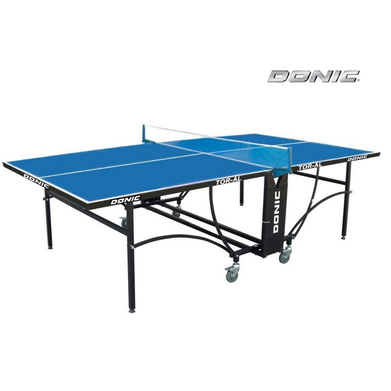 Фотография Всепогодный теннисный стол DONIC TORNADO -AL - OUTDOOR (синий) 0
